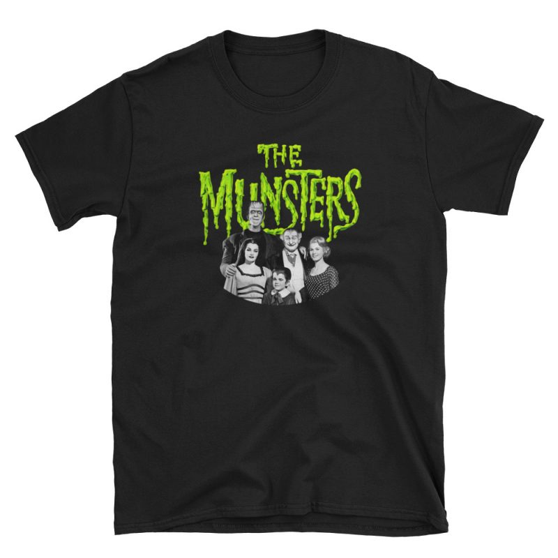Camiseta The Munsters . Black Mammy©